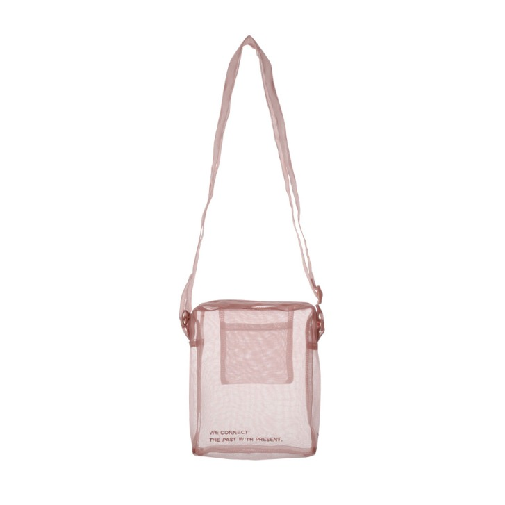Nobangbag mini _ pink gray